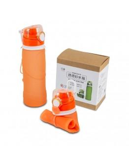捲捲矽水瓶750ml-朝陽橘