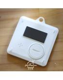 【dretec】雙計時防水滴計時器(白色)