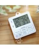預購:【dretec】雙計時防水滴計時器(白色)