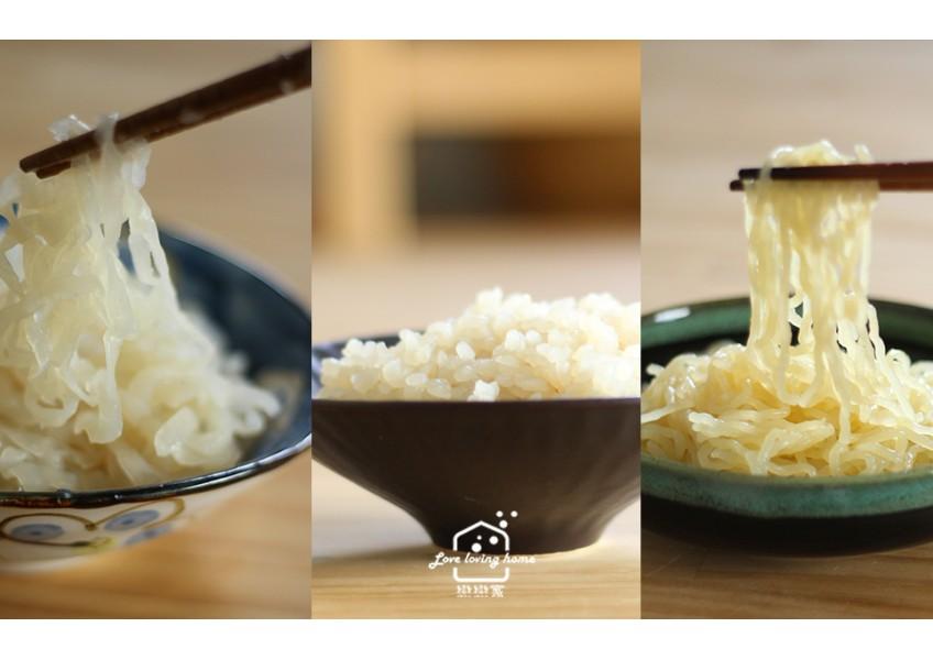 團購:低醣高纖的蒟蒻細、寬麵/蒟蒻米 ,維持身材的好食材