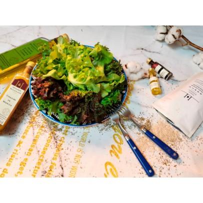 預購『綠谷沙拉生菜園』沙拉花束500g+AT&T精選油&醋100ml組,預計9/22以後出貨(免運,限宅配出貨)