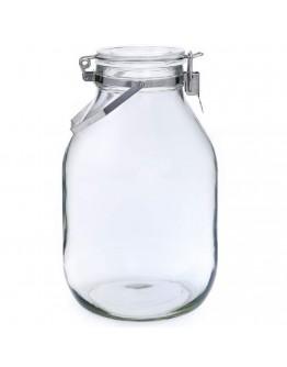 【日本星硝】梅酒/漬物密封玻璃瓶(3L)
