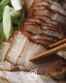 4/16(四)客家菜2:油炆筍/客家冷油雞/客家鹹豬肉(加碼鹹豬肉白肉版本)/擂茶麻糬煎