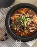 6/20(六)川味料理1:川味豆花牛肉/魚香鍋餅/干鍋花菜/豆花甜品