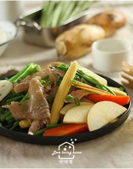 料理的基礎4:香料鹽水雞/果香黃金泡菜/和風毛豆藜麥沙拉/古早味鳳梨冰茶