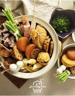 11/26(四)日式料理4:食本味關東煮/果香薑汁燒肉/雜炊飯
