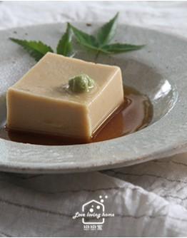 3/23(二)日式料理5:葛粉胡麻豆腐/赤味噌牛筯飯/鮮蝦山藥丸子百合羹/