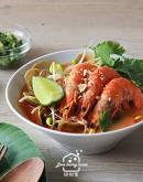 星馬料理1:海南雞飯/叻沙海鮮湯/薄荷水果糖漿葛粉涷