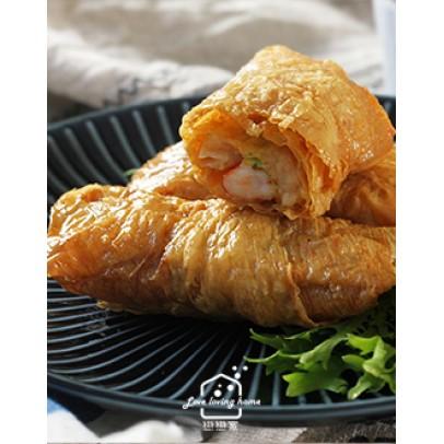 港式料理4:鮮蝦腐皮捲/港味鴨絲炒米粉/粵式胡椒豬肚煲雞鍋/薑汁撞奶