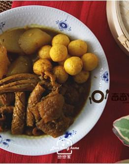 港式料理2:雪菜鮮味港式蒸餃/牛腩撈麵/咖哩魚蛋/雪酪楊枝甘露