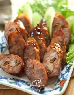 節令料理系列4:實作課程--親手灌香腸:高粱酒原味香腸和剝皮辣椒風味