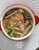 料理的基礎 1:蛋糕烘蛋/家常粉蒸肉/家鄉肉羹湯/高纖榨菜炒什錦