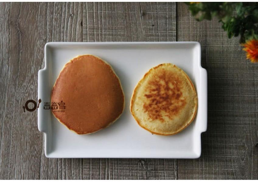 完美又安全的煎出焦糖色鬆餅