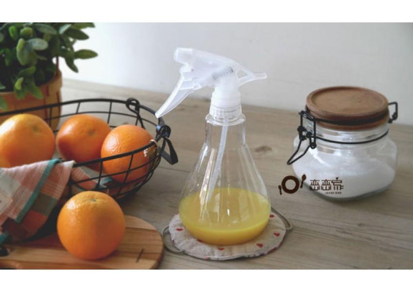 橙皮變身好去汙的百分百天然清潔劑 (內有小蘇打比例的調整、柑橘水果替代的注意事項)