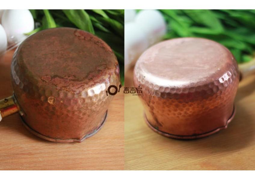 簡單方便的銅鍋去漬法