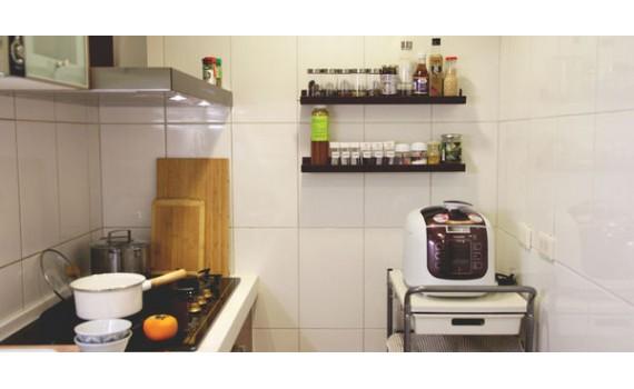 廚房改造2.0,好清潔、洗練感和時尚是小廚房的必備品
