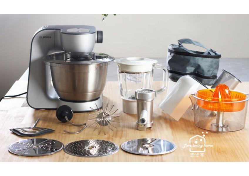 廚房的萬用變形金剛:Bosch 精湛萬用廚師機MUM59340TW|做餡超多水煎包、布丁蛋糕、芒果慕斯蛋糕