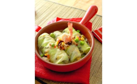 蔬食年菜:八寶福袋