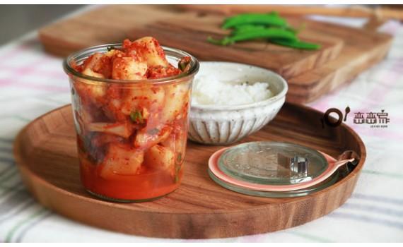 作出餐廳級韓式蘿蔔泡菜的秘密武器