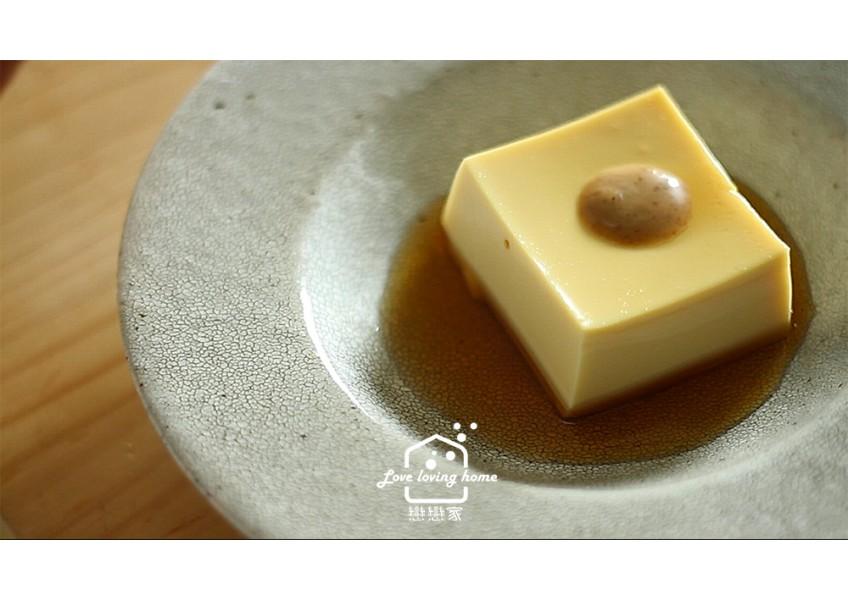 雞蛋嫩豆腐,口感就像布丁一樣