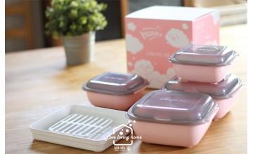 零油料理不是夢!整合鍋具、便當盒和食物收納盒的料理神器:Gourlab微波調理盒