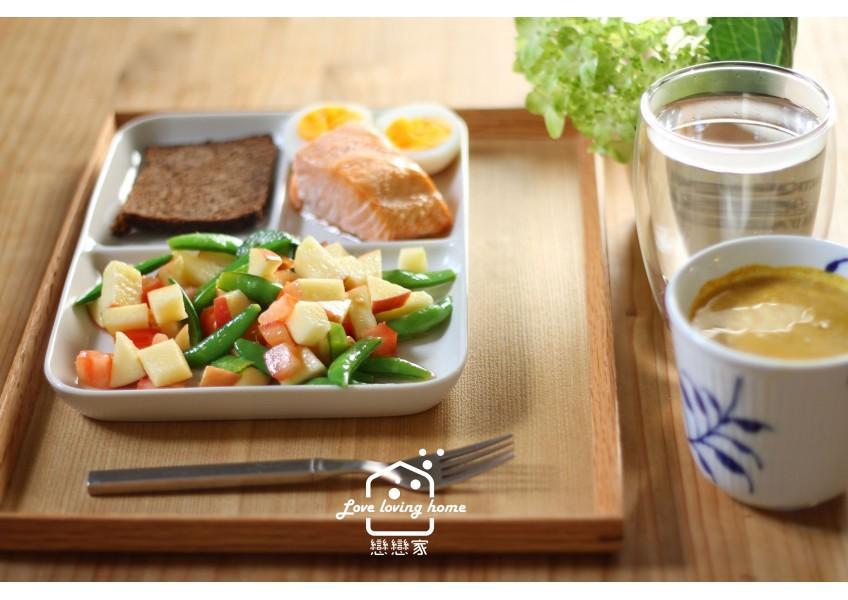 211餐盤+168輕斷食。飲食管理日記-58|戀戀家