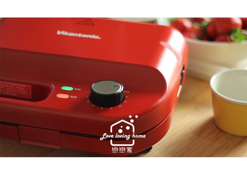 VITANTONIO計時器鬆餅機~結合烤箱、烤盤、吐司熱壓機的萬用神器