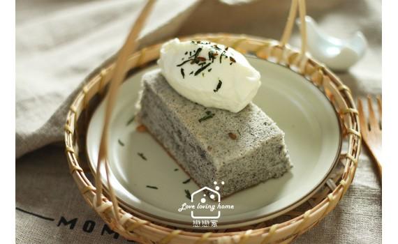 芝麻豆奶天使蛋糕|戀戀家