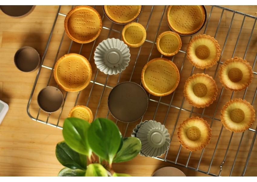 塔甜點的基礎:甜酥塔皮,不需盲烤也不會變形、回縮的小技巧