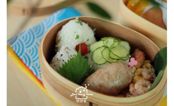 便當日記20:義式香腸+紫蘇飯糰三式