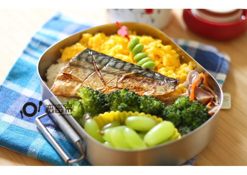 便當日記17:烤鯖魚便當