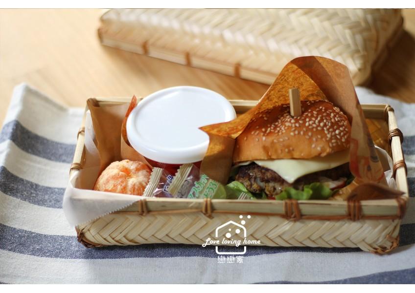 戀戀家便當日記37:美式牛肉漢堡