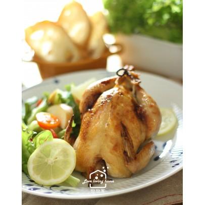 10/31(六)料理的基礎8:咖啡館風料理--檸檬烤春雞+羅宋湯+堅果培根蔬菜庫斯庫斯+優格夾心雲朵蛋糕