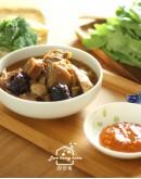 節令料理系列7:羊肉爐(或薑母鴨擇一)+翡翠虎掌+什錦燴鍋巴+驢打滾