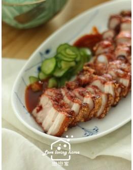 客家菜3:胭脂紅糟肉/三角水晶餃/冬瓜排骨酥湯/客家地瓜餅